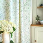 Apple Blossom lichen curtain