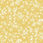 Apple Blossom saffron fabric