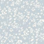 Apple blossom smoke blue fabric