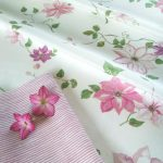 Clematis fabric detail