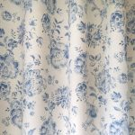 Elise French Blue curtain