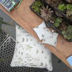 Field Study cushion at Chelsea Flower Show