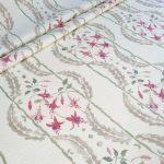 Fuchsia Trail folded fabric