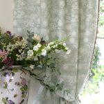 Hedgerow lichen curtain detail