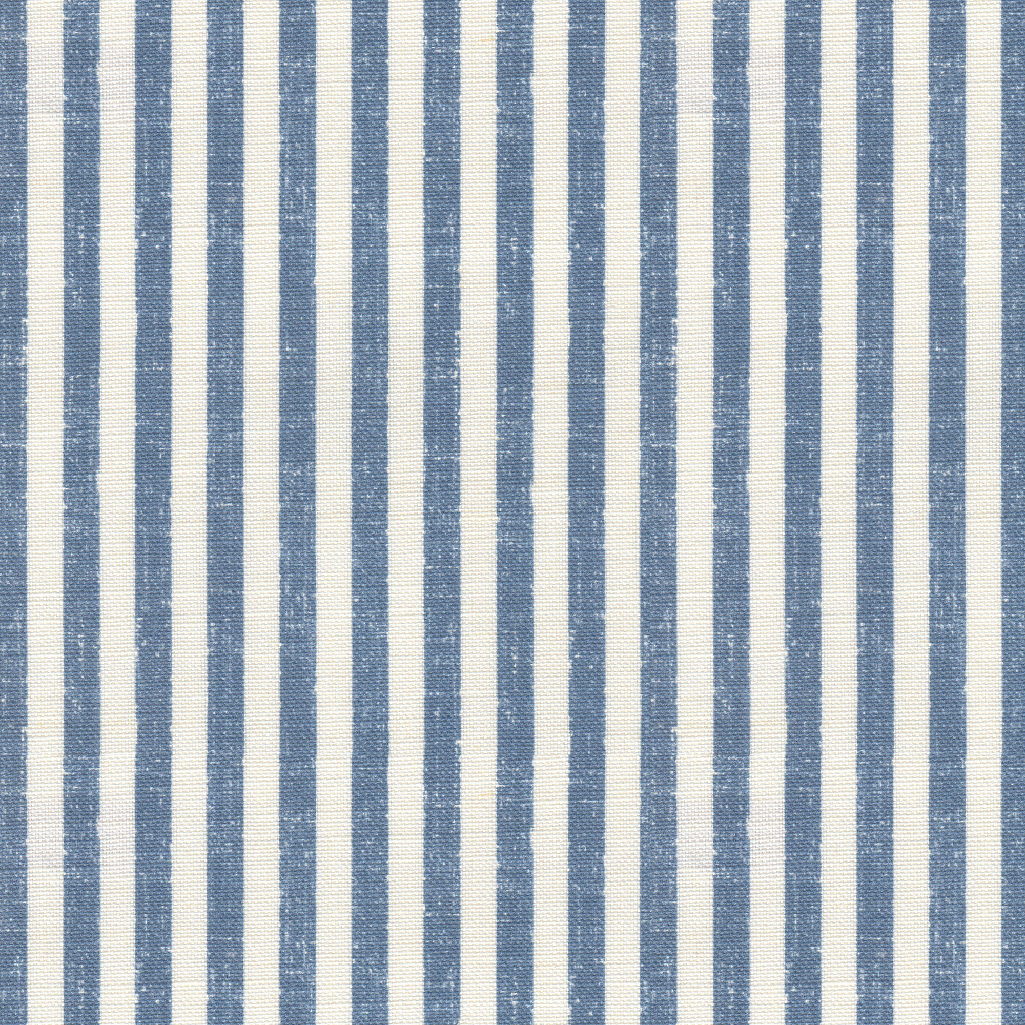 Luca Stripe French Blue Fabric Jacqueline Milton