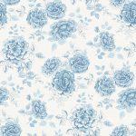 Maxine mid blue fabric