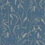 Meadow Grass denim fabric