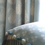 Paisley Rose smoke blue with cushion