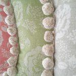 Rose Garden cushions close