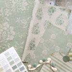 Sage fabric collection