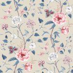 Summer Garden stone fabric