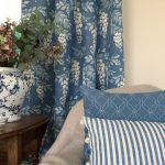 Wisteria French Blue with cushions