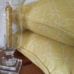 mollie saffron cushions